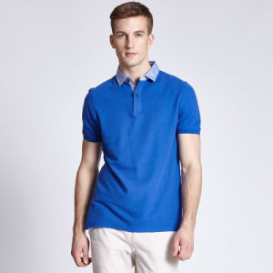 Factory Wholesale Hot Selling New Design 100% Cotton Polo Shirts pictures & photos