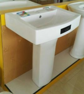 24 Size Chaozhou Bathroom Sanitary Ware Big And Luxurious Square Wash Basin