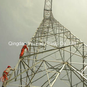 Long Span Power Distribution Transmission Large Crossing Steel Tower pictures & photos