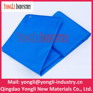 All Weather Waterproof Blue PE Woven Fabric Tent pictures & photos