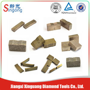 Granite Cutting Ming Tools Diamond Saw Blade Wet Cutting Segment pictures & photos