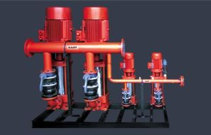 Horizontal D Series Multi-Stage Marine Fire Fighting Pump pictures & photos