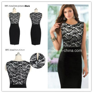 China Hot Sale Lace Dress Pencil Dress Business Wear Women