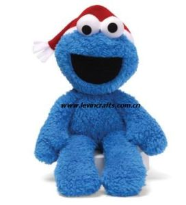 Plush Blue Monster Christams Toys Stuffed Toys