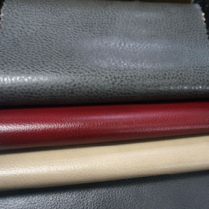 China Polyurethane Upholstery Fabrics Leather For Furniture Sofa Car