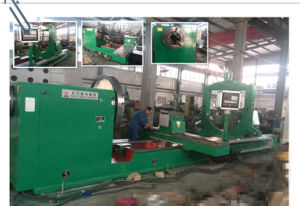 North China Professional Pipe Threading Lathe Machine pictures & photos