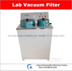 Laboratory Disk Vacuum Filter for Dewatering pictures & photos
