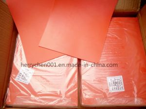 Orange Color 2.3mm Laser Engrave Rubber Sheet, No. 099b pictures & photos