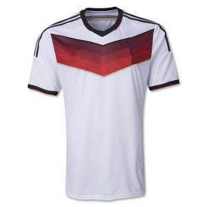 3975c5f4312 Maillot De Foot New 2014 World Cup Germany Home White Camisetas De Futbol  Short Sleeve Football