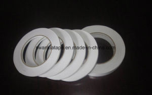 White Cotton Paper Double Sided Adhesive Tape for The Sticking of Label