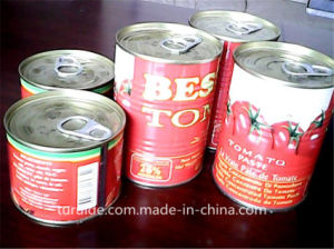 28%-30% Brix 2014 Crop Fresh Canned Tin Tomato Paste Ketchup