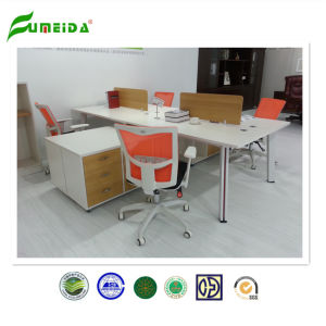 2015 New Modern Workstation Office Furniture with Mobile Side Table pictures & photos
