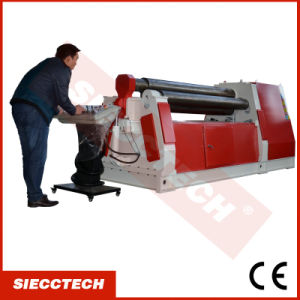 Steel Sheet Hydraulic 4 Roll Bending Roll Machine From Siecc pictures & photos