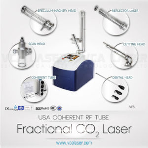 Fractional CO2 Laser, Professional Skin Resurfacing Scar Removal Machine, USA RF Tube CO2 Medical Aesthetic Laser System pictures & photos