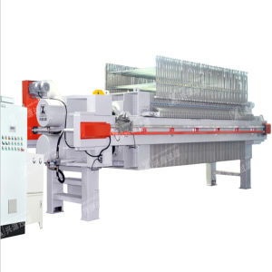 Automatic Tilting Filter Press for Wastewater Treatment