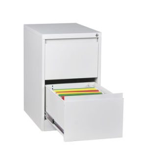 Linkage Lock 2 Drawers Low Price Metal Filing Cabinet pictures & photos