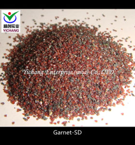 Garnet for Sandblasting Steel Media pictures & photos