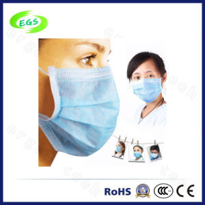 Disposable Non-Woven Laboratory Pleated Protector Face Mask pictures & photos