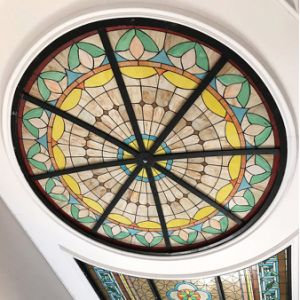 Art Building Home Projects Toughened Stained Glass Mosaic Dome pictures & photos