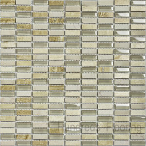 Stone Mix Glass Mosaic Tile (HGM250) pictures & photos