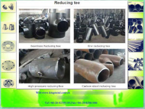 Asme B16.9 Steel Reducing Tee pictures & photos
