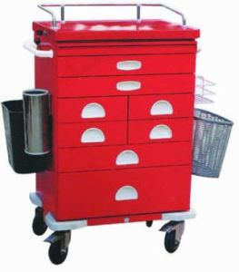 High Quality Steel Painted Medicine Trolley (N-10) pictures & photos