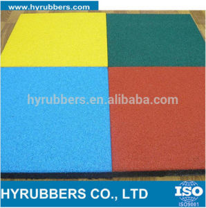 Square Colores Rubber Flooring Tiles for Playground pictures & photos