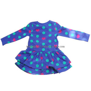 Long Sleeve Infant Dress pictures & photos