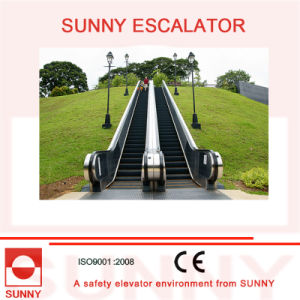 Outdoor Escalator with Colorful Rubber Handrails, Sn-Es-Od036 pictures & photos
