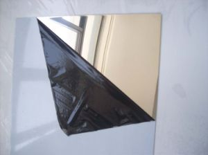 Protective Film for Mirrored Steel Plate pictures & photos