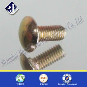 Yellow Zinced Round Head Carriage Bolt pictures & photos