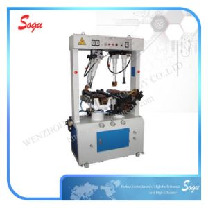 Xx0214 Double Cylinder Universal Wall Type Hydraulic Sole Attaching Machine; Safety Shoe Machine pictures & photos