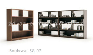 American Style Wooden Bookcase Modern Home Bookcase (SG-07) pictures & photos