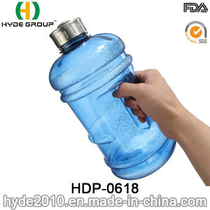 2016 Newly Gallon Sports PETG Water Bottle, 2.2/1.89L Plastic Gym Water Bottle (HDP-0618) pictures & photos