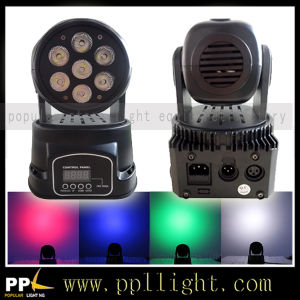 7PCS * 10W 4in1 LED Wash Moving Head Stage Lighting