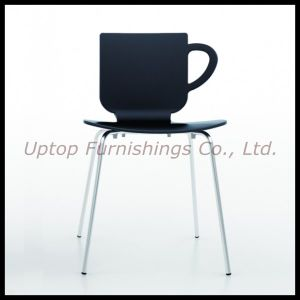Cup Shape Plastic Bar and Restaurant Plastic Chair (SP-UC387) pictures & photos