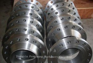 Wafer Butterfly Valve Forging Flange pictures & photos