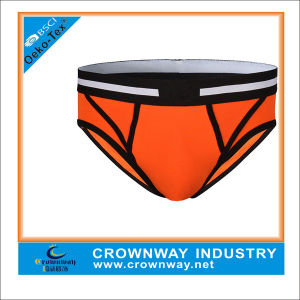 Cotton Orange Tight Brief Underwear for Men pictures & photos