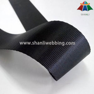 38mm Black High Tenacity Polyester Webbing Strap pictures & photos