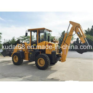 Mini Backhoe Loader with CE for Sales (WZ25-20) pictures & photos