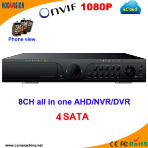 8 Channel H. 264 Standalone 4SATA DVR Recorder pictures & photos