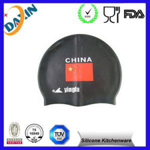 with Custom Logo Factory Direct Eco-Friendly Silicone Swimming Cap pictures & photos