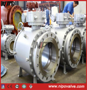 Forged Steel Flanged Trunnion Ball Valve (3Q47F) pictures & photos