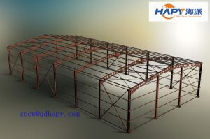 Steel Construction in Livestock From Qingdao Supplier pictures & photos