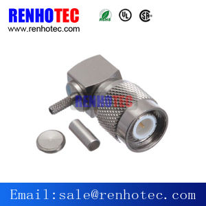 Right Angle Crimp Type TNC Plug for LMR400 Rg8 pictures & photos