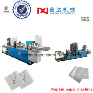 Automatic Color Printing Folding Napkin Serviette Paper Manufacturing Machine pictures & photos