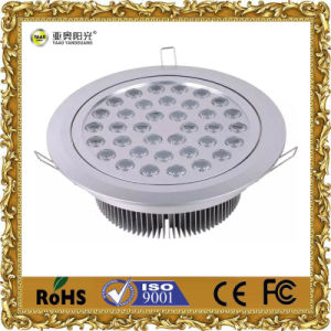 1W White Housing LED Ceiling Light for Bedroom