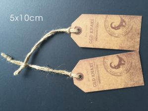 High Quality Cheap Wholesale Garment Hang Tag