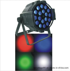 LED PAR64 18X10W RGBW 4in1 Zoom PAR Can Wash Lighting pictures & photos