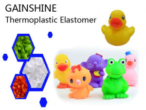 Gainshine Transparency Color TPE Material for Toys S085c-2